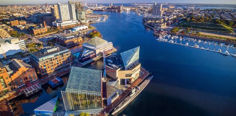 Downtown Baltimore Inner Harbor For Mobile